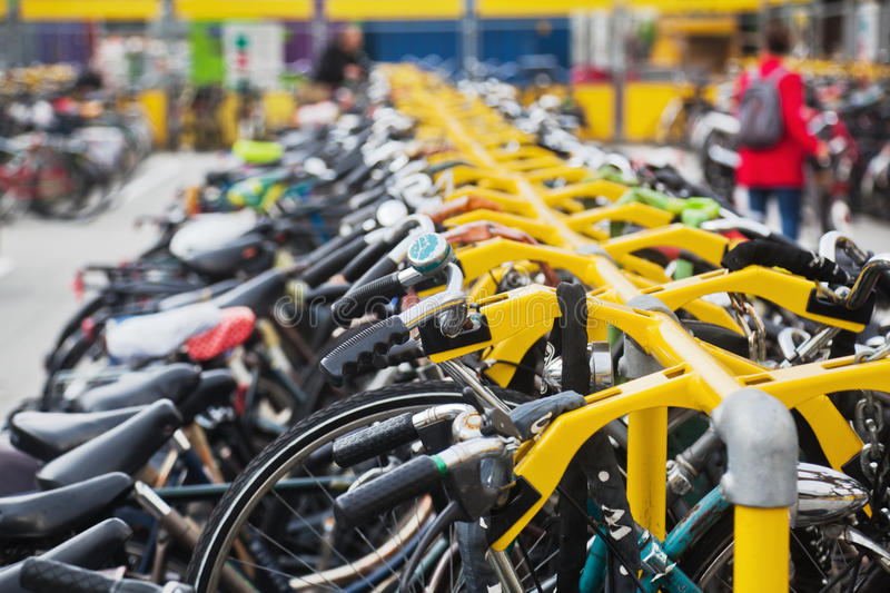 Download Bicyles stock photo. Image of bicycle, wheels, city, bike - 34067096