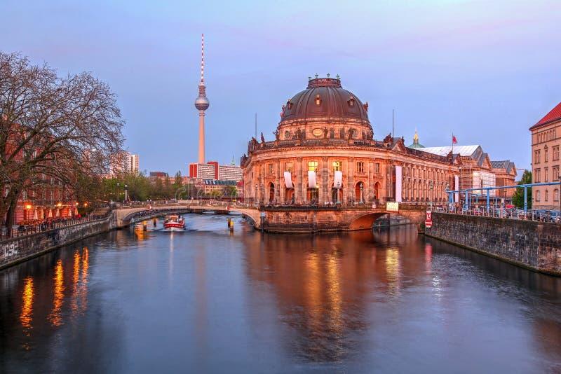 Bidat museum, Berlin, Tyskland royaltyfri bild