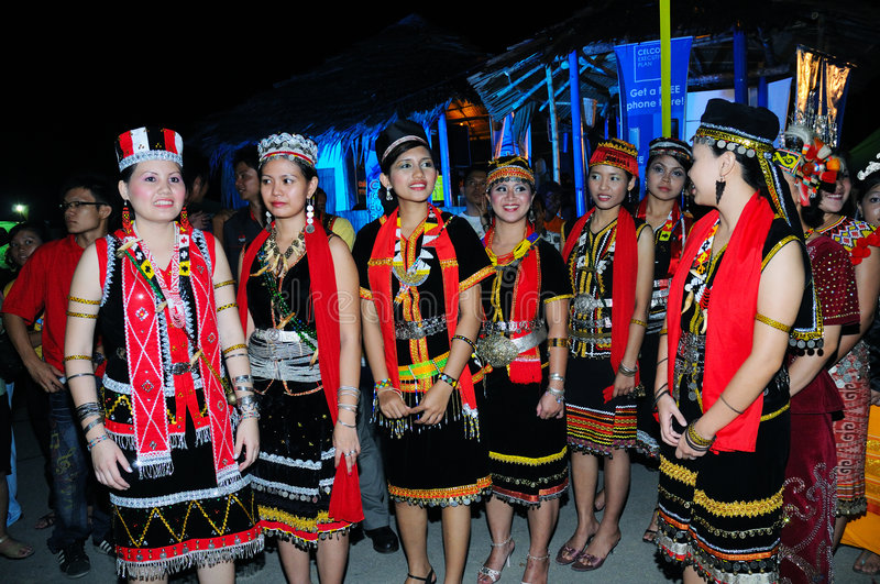 Download Bidayuh Women Editorial Image - Image: 5691390