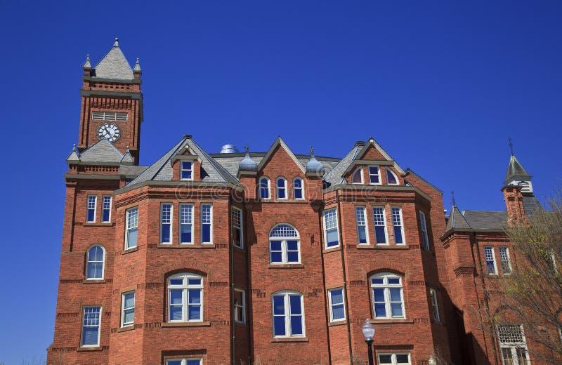 Biddle histórico Salão em Johnson C smith fotos de stock royalty free