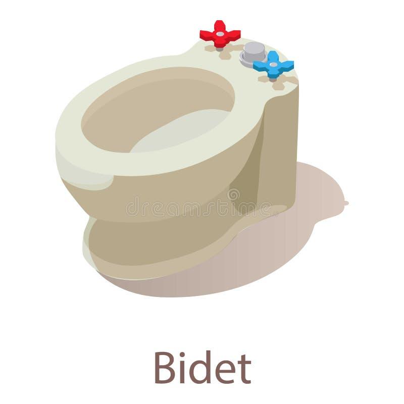 Download Bidetpictogram, Isometrische Stijl Vector Illustratie - Illustratie bestaande uit water, binnenlands: 107709080