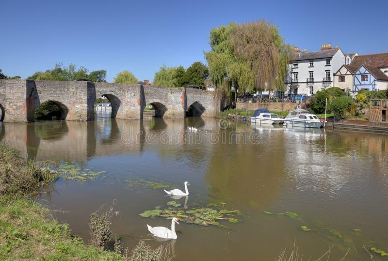 Download Bidford-on-Avon, Warwickshire Stock Photo - Image of reeds, bidford: 35310648