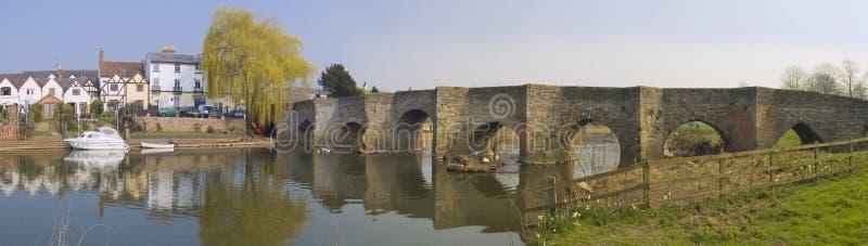 Bidford nach Avon Warwickshire stockfotos