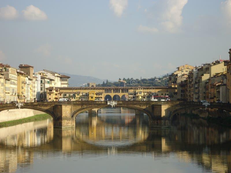 Bidges a Firenze fotografia stock