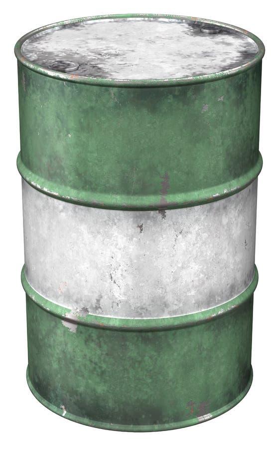 Bidon à pétrole illustration de vecteur