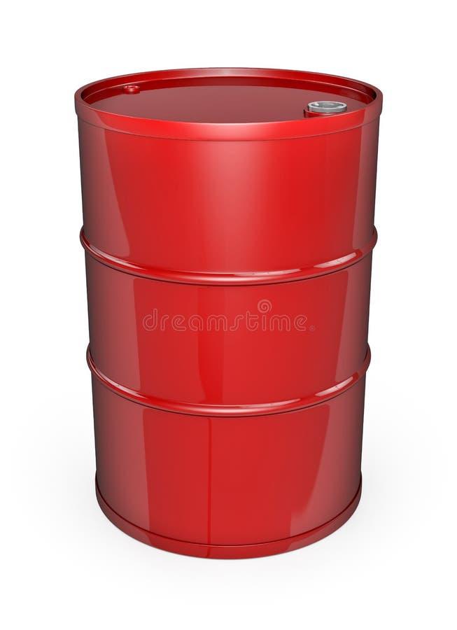 Bidon p trole rouge illustration stock illustration du - Bidon de petrole ...