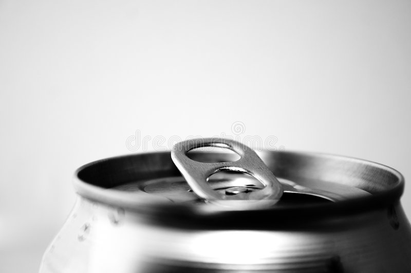 Bidon de bicarbonate de soude photo stock