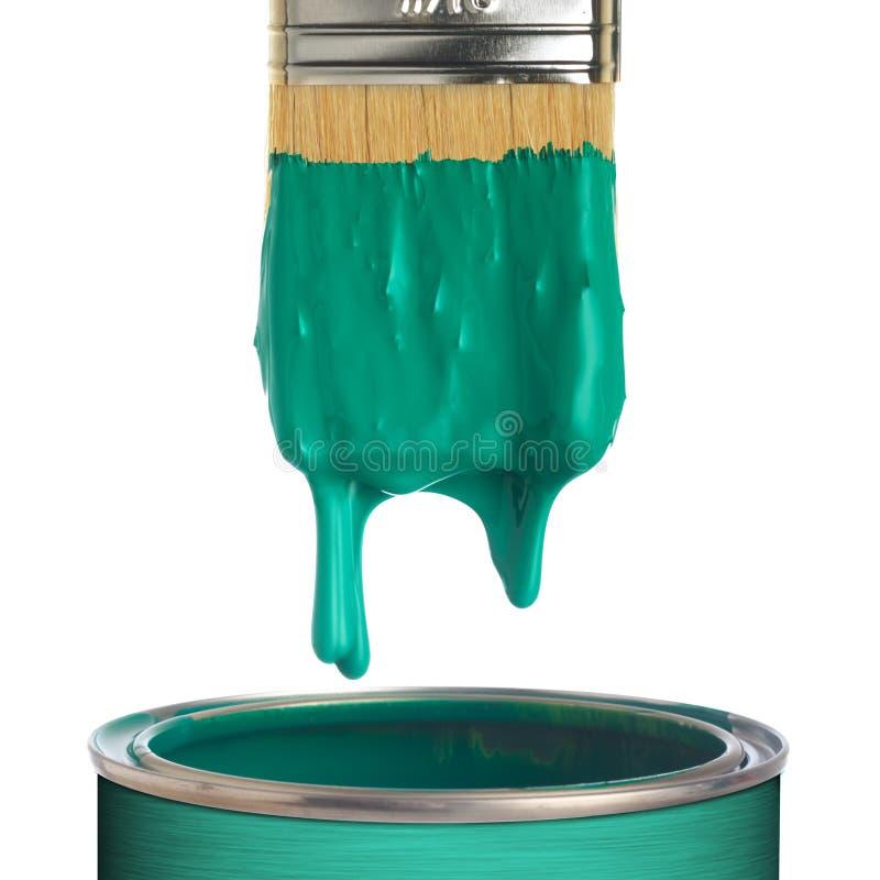 Bidon de peinture image stock
