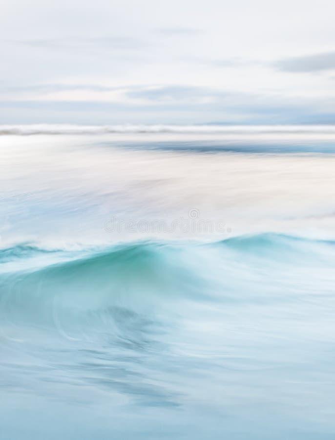 Bieżąca ocean fala zdjęcie stock