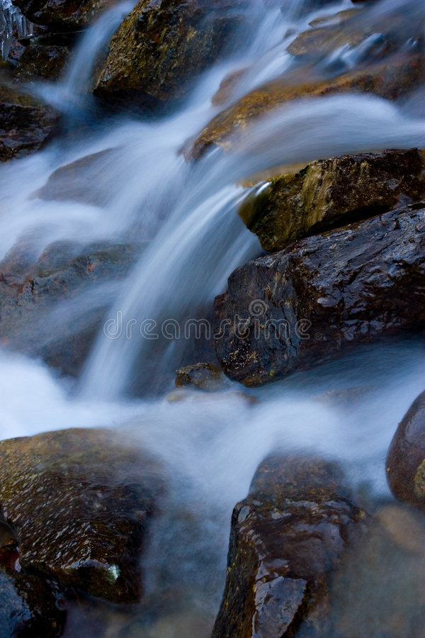 bieżącej wody. obraz stock