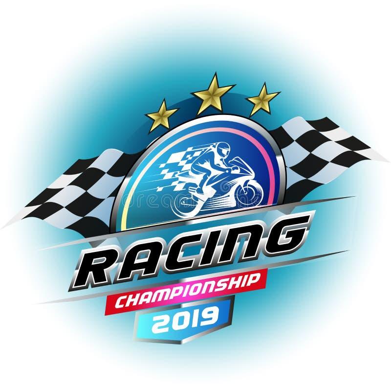 Bieżnego mistrzostwa logo ilustracji