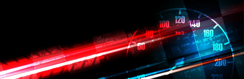 Bieżny kwadratowy tło, wektorowa ilustracyjna abstrakcja w samochodzie ilustracja wektor