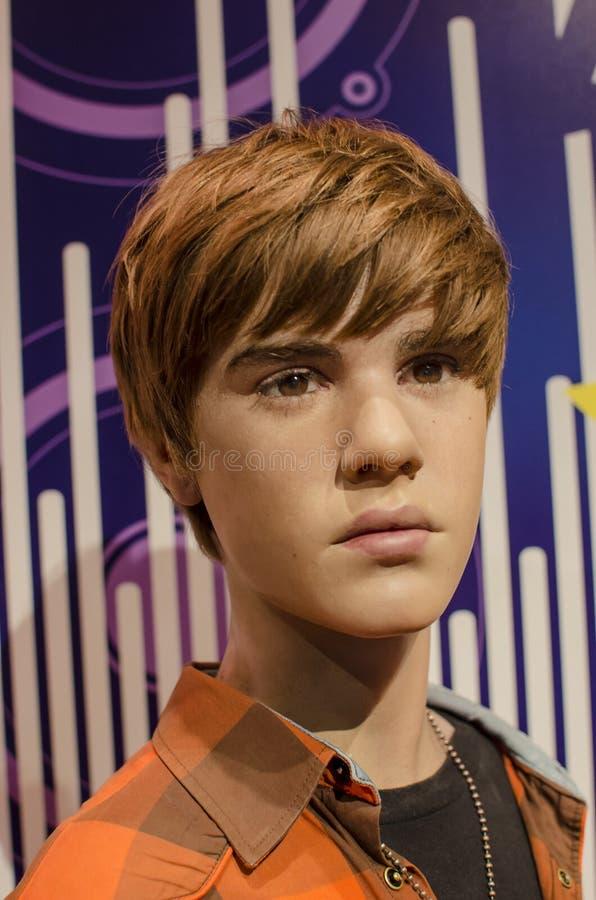 Bieber de Justin images libres de droits