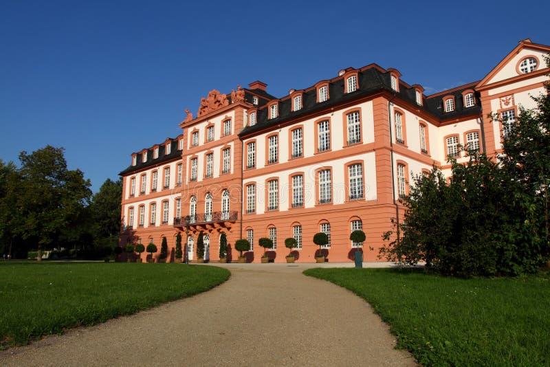 Biebrich Palast in Wiesbaden stockbilder