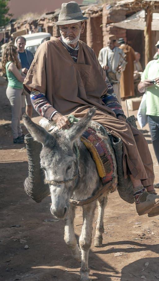Bieda targowy Maroko fotografia royalty free