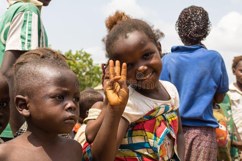 Biedni wiejscy afrykańscy dzieci 31 zdjęcia royalty free