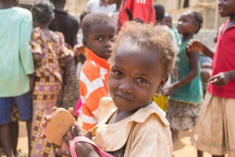 Biedni wiejscy afrykańscy dzieci 30 obraz stock