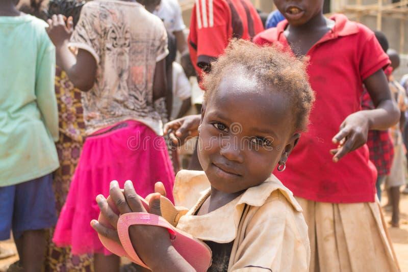 Biedni wiejscy afrykańscy dzieci 29 obrazy stock