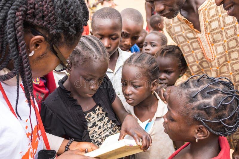 Biedni wiejscy afrykańscy dzieci 22 zdjęcie royalty free