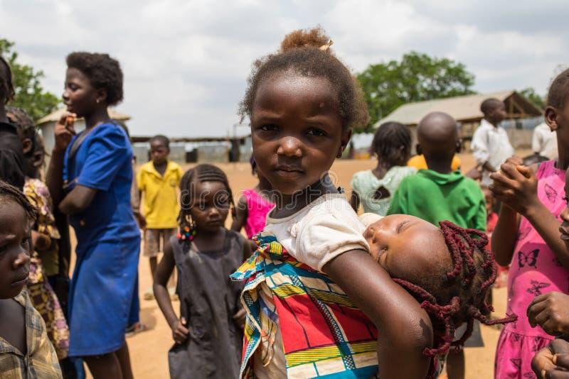Biedni wiejscy afrykańscy dzieci 21 zdjęcie royalty free