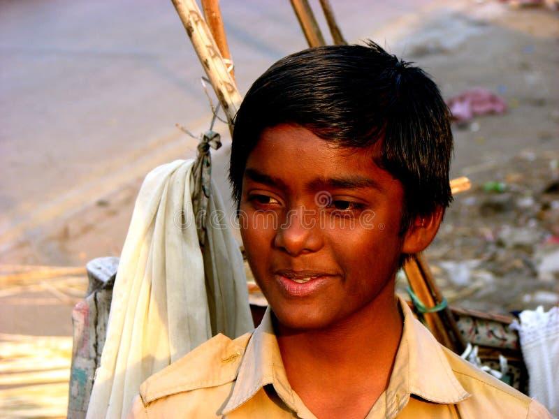 biedny chłopiec zdjęcie royalty free