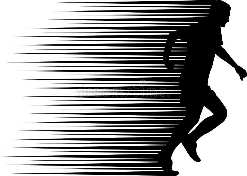 biegacz ilustracji