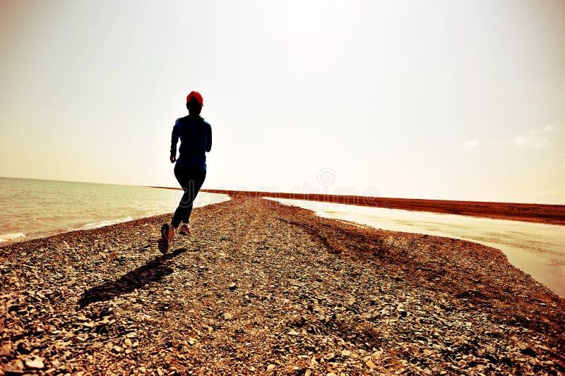 Biegacz atlety bieg obraz stock