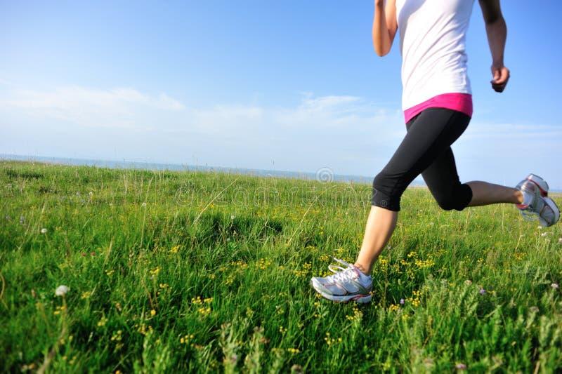 Biegacz atlety bieg zdjęcia stock