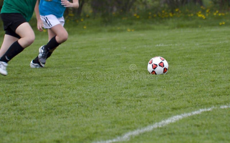 biegnij piłkę obraz stock