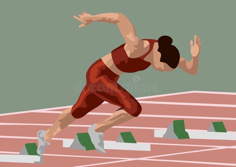 biegnij pochodzenia ilustracji