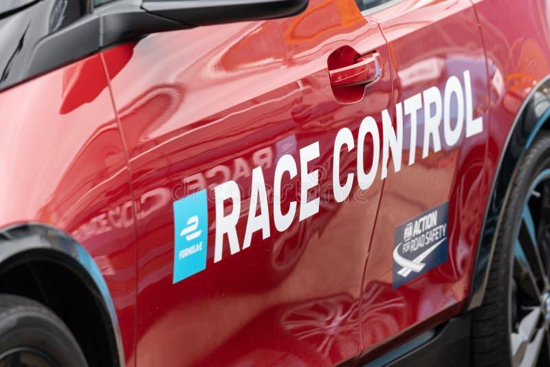 Biegowy Kontrolny samochód obrazy royalty free