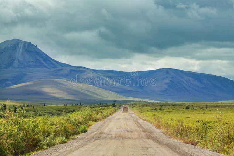 Biegunowa tundra fotografia stock