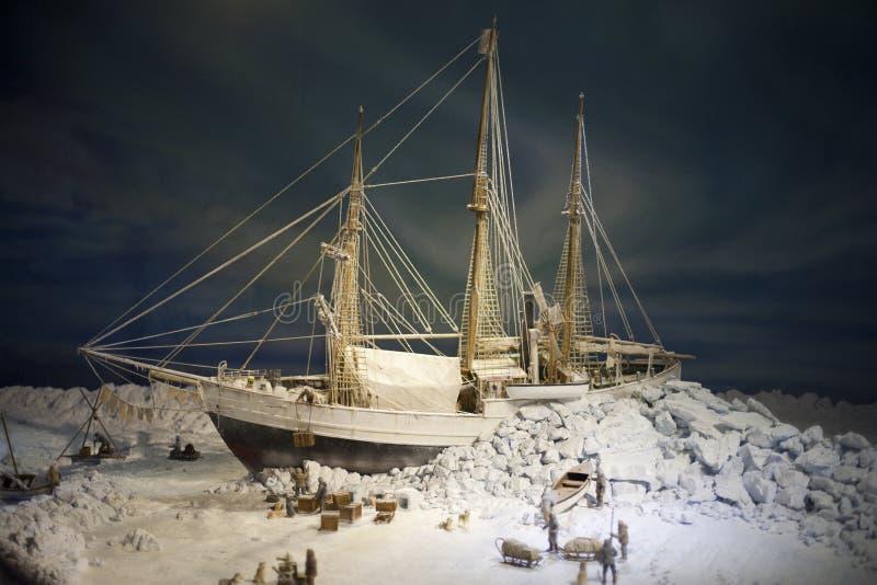 Biegunowy statek Fram fotografia stock