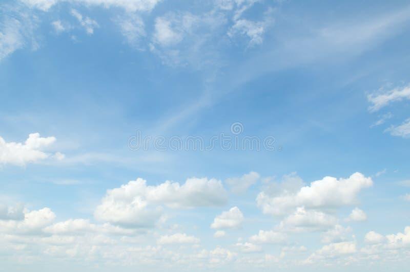 Biel chmura zdjęcia stock
