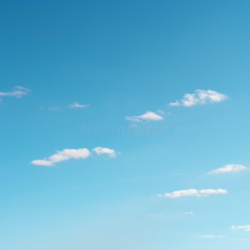 biel chmura na niebie fotografia stock