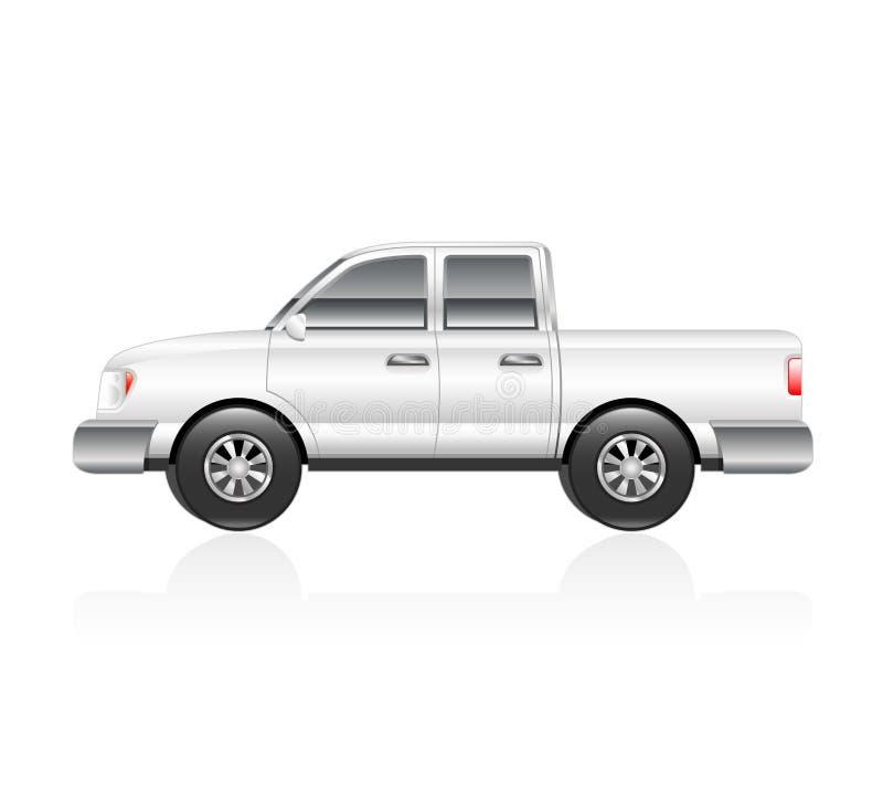 Biel ciężarówka royalty ilustracja