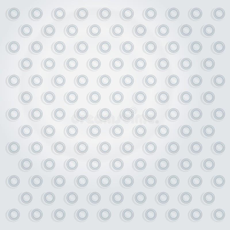 Biel dimpled powierzchnia royalty ilustracja
