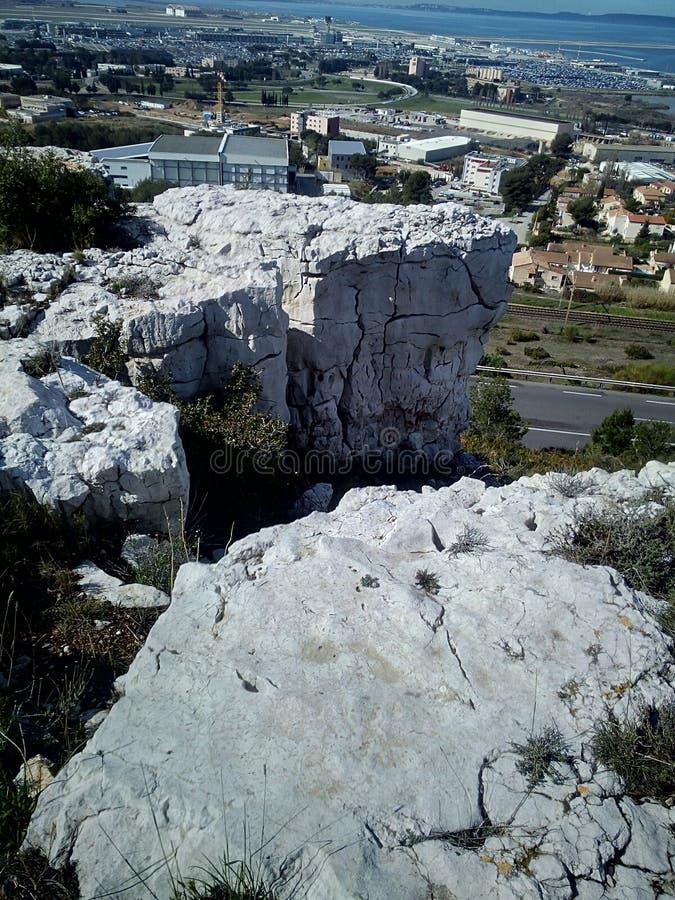 Biel kamień zdjęcie stock