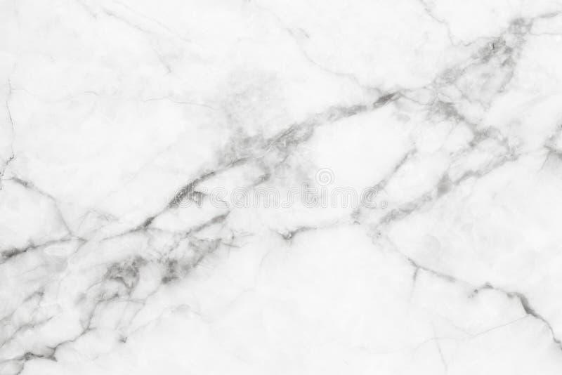 Biel marmurowa tekstura, wyszczególniająca struktura marmur w naturalny wzorzystym dla tła i projekt,