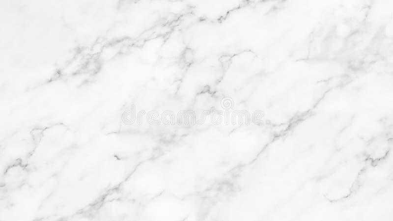 Biel marmurowa tekstura z naturalnym wzorem dla tła obraz stock