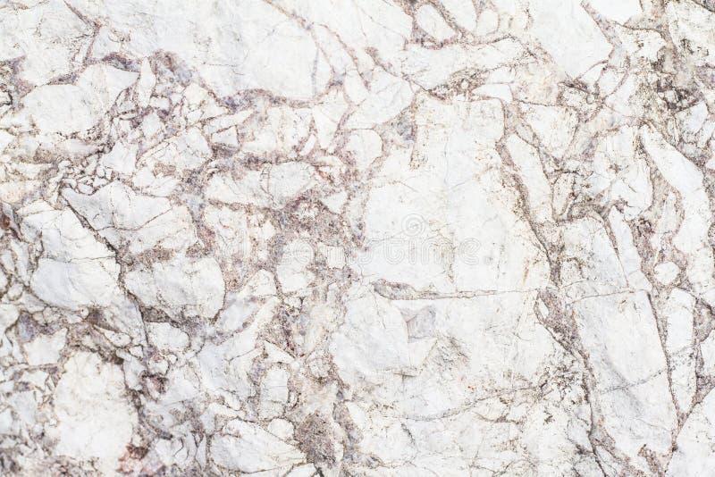 Biel marmurowej tekstury tła abstrakcjonistyczny wzór Wysoka rozdzielczość zdjęcia stock