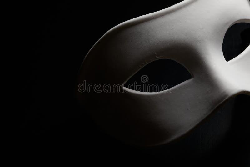 Biel maska zdjęcia stock