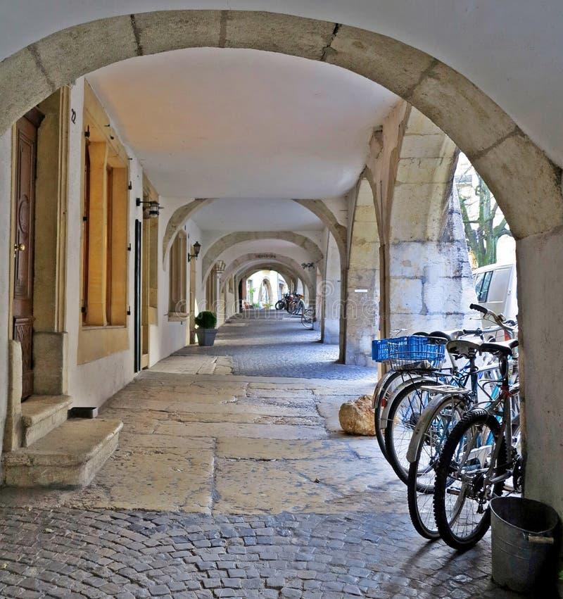 Biel Old Town fotos de stock