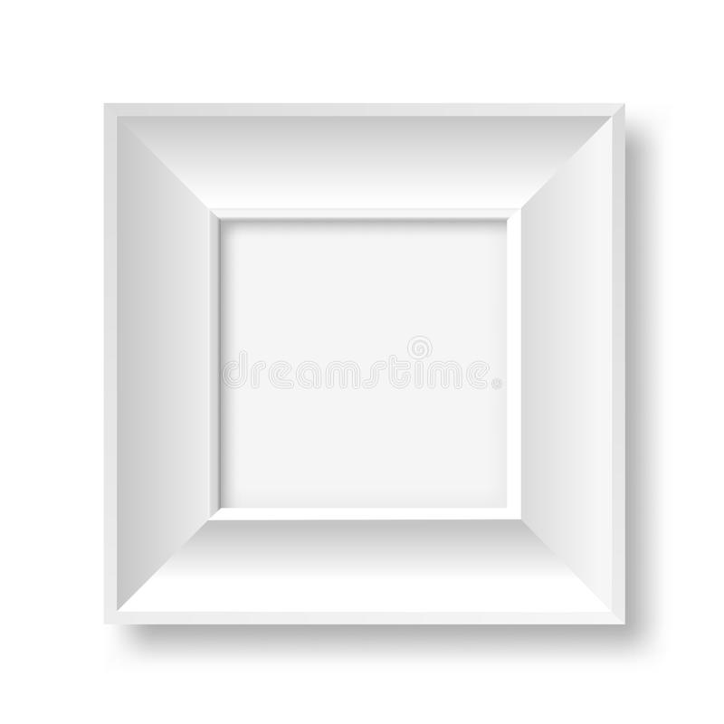 Biel rama ilustracji