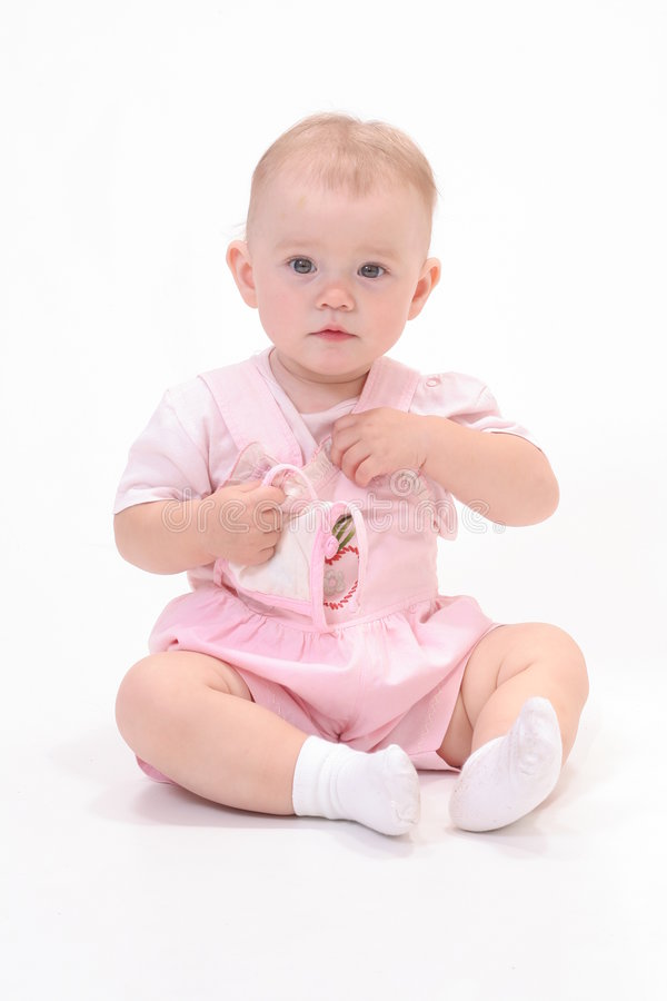 biel tła dziecka obrazy stock