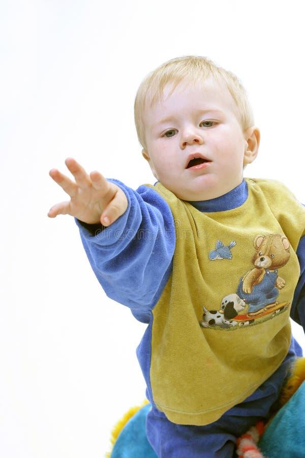 biel tła dziecka zdjęcie royalty free