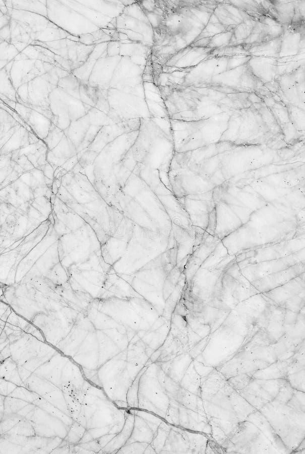 Biel tekstury marmur deseniujący tło Marmury Tajlandia, abstrakcjonistyczny naturalny marmurowy czarny i biały dla projekta (szar fotografia stock