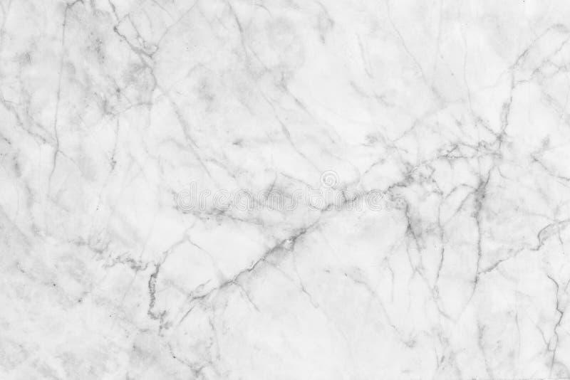 Biel tekstury marmur deseniujący tło Marmury Tajlandia, abstrakcjonistyczny naturalny marmurowy czarny i biały dla projekta (szar obrazy stock