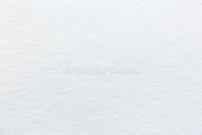 Biel textured papier obraz stock
