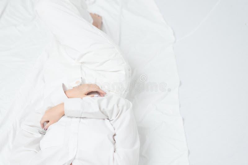Biel ubrania pracowniani obraz stock